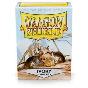 Arcane Tinman Dragon Shields: Cards Sleeves - Ivory Matte (100)