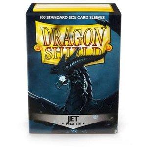 Arcane Tinman Dragon Shields: Cards Sleeves - Jet Matte (100)