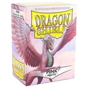 Arcane Tinman Dragon Shields: Cards Sleeves - Pink Matte (100)