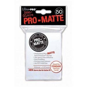 Ultra Pro Ultra Pro: Card Sleeves -White Matte (50)