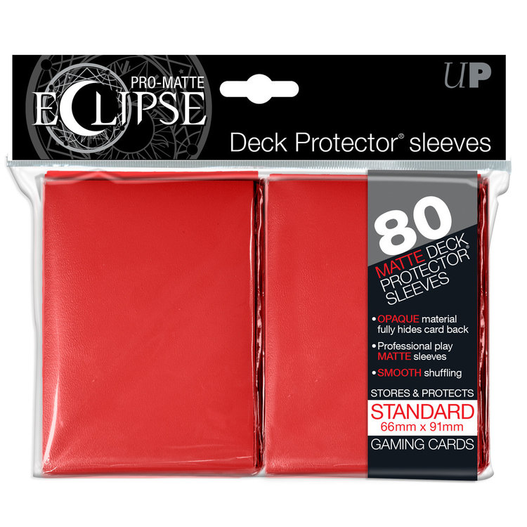 Ultra Pro Ultra Pro Eclipse: Card Sleeves -  Apple Red (100)