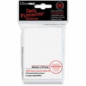 Ultra Pro Ultra Pro Card Sleeves: White (50)