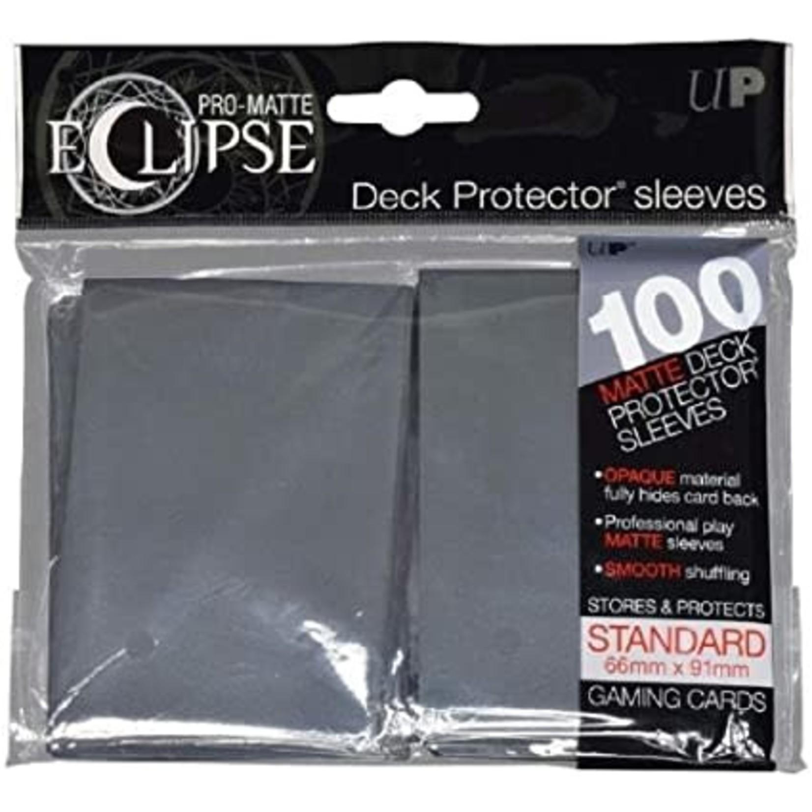 Ultra Pro Ultra Pro Eclipse: Card Sleeves - Smoke Grey (100)