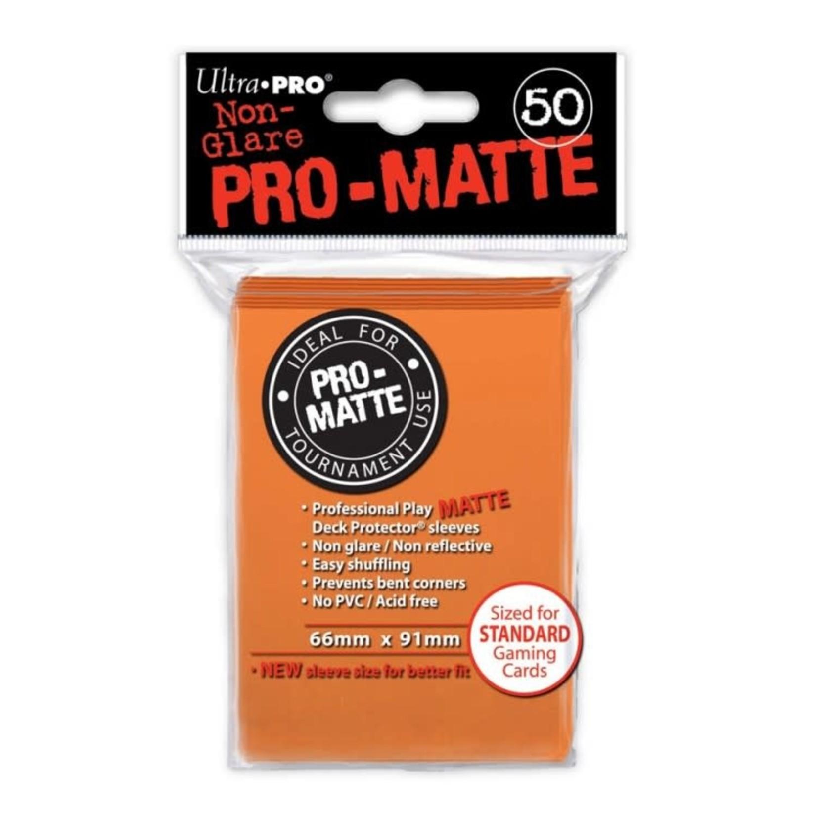Ultra Pro Ultra Pro: Card Sleeves - Orange Matte (50)