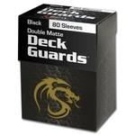 BCW BCW Card Sleeves: Matte Black (80)
