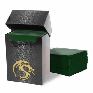 BCW BCW Card Sleeves: Matte Green (80)