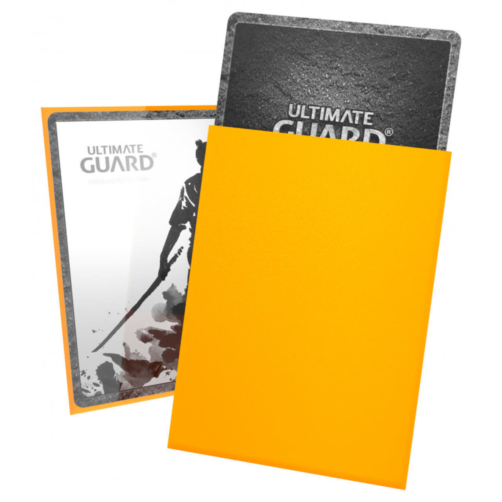 Ultimate Guard Ultimate Guard: Card Sleeves -Katana Yellow (100)