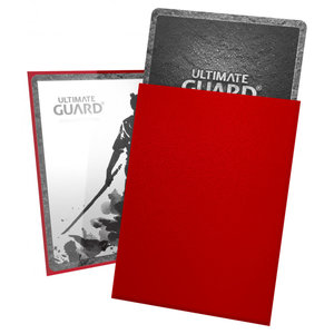 Ultimate Guard Ultimate Guard: Card Sleeves -Katana  Red (100)