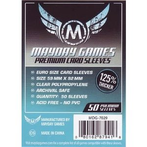 Mayday: European Premium Card Sleeves (50)