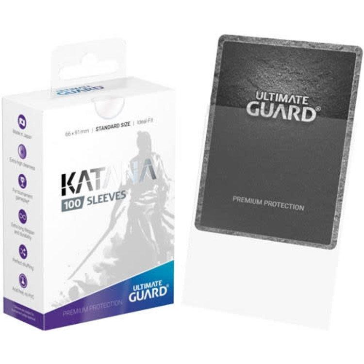 Ultimate Guard Ultimate Guard: Card Sleeves -Katana  Clear (100)