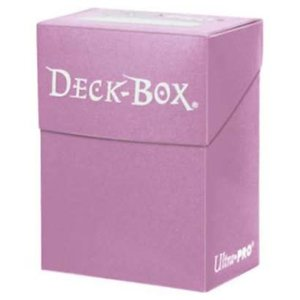 Ultra Pro Ultra-Pro Deck Box: Solid Pink