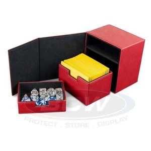 BCW Deck Box: BCW Commander: Red