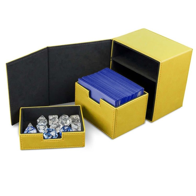 BCW Deck Box: BCW Commander: Yellow