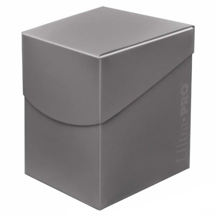 Ultra Pro Deckbox: Eclipse Smoke Grey (100)