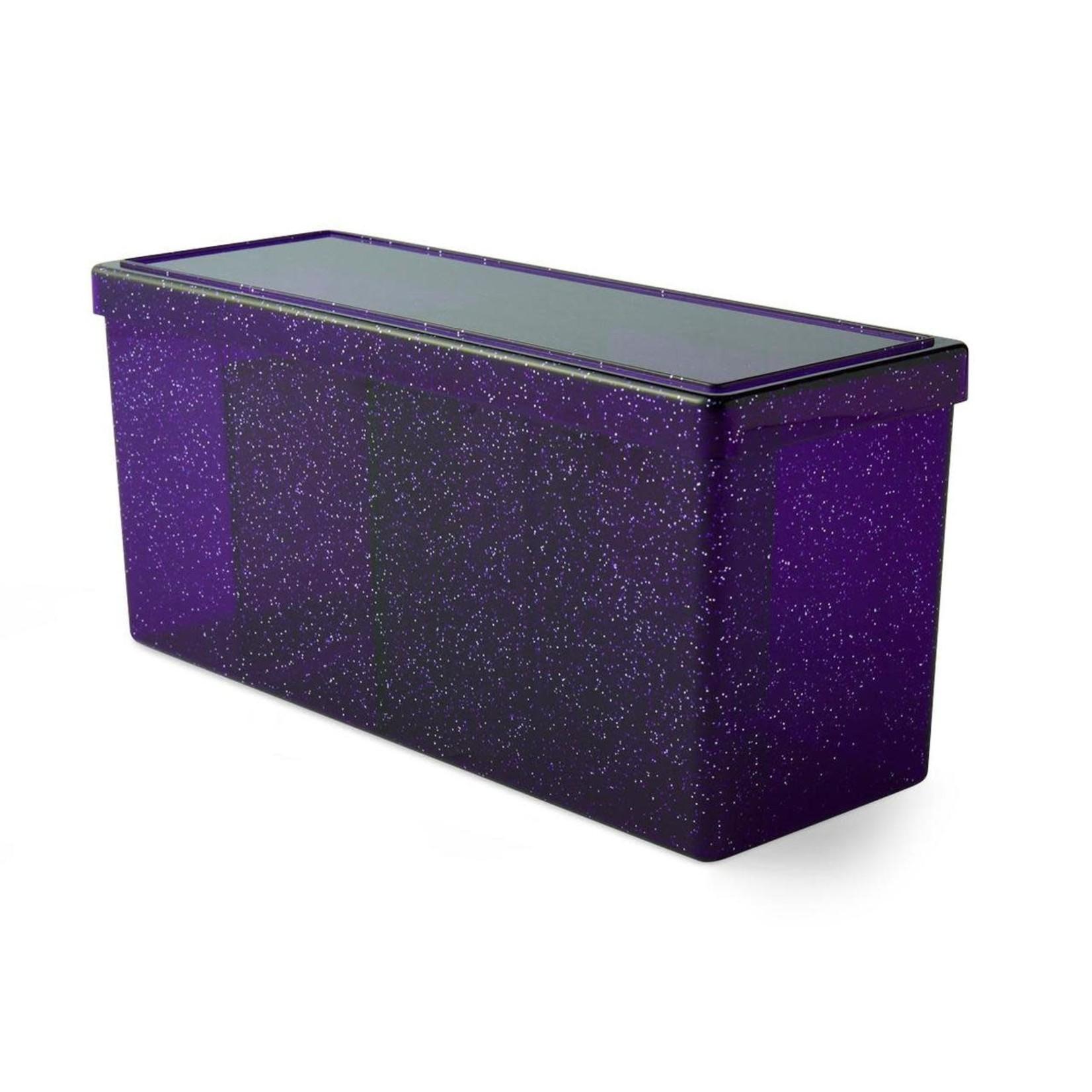 Arcane Tinman Dragon Shield: 4 Compartment Deckbox - Night Blue