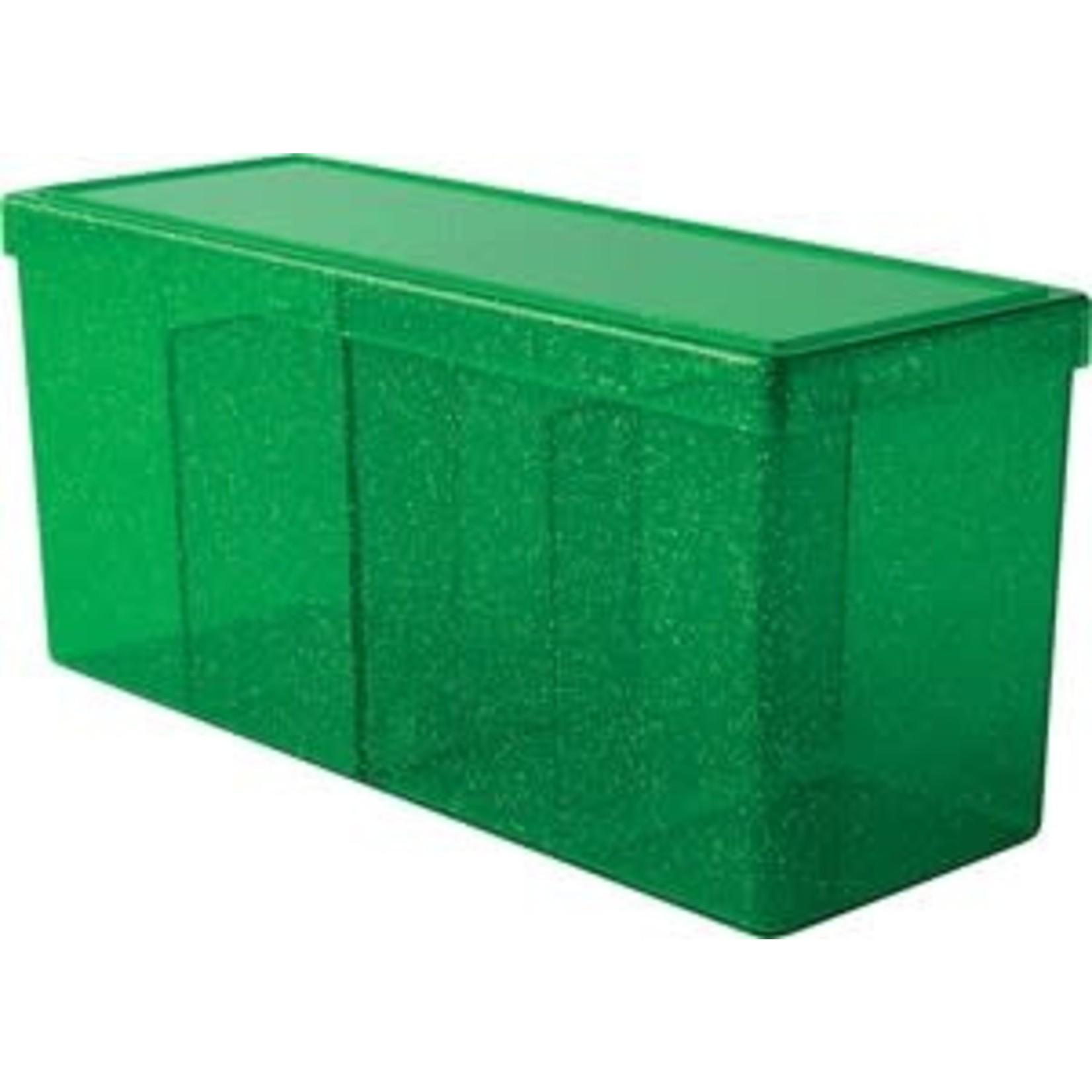 Arcane Tinman Dragon Shield: 4 Compartment Deckbox - Green