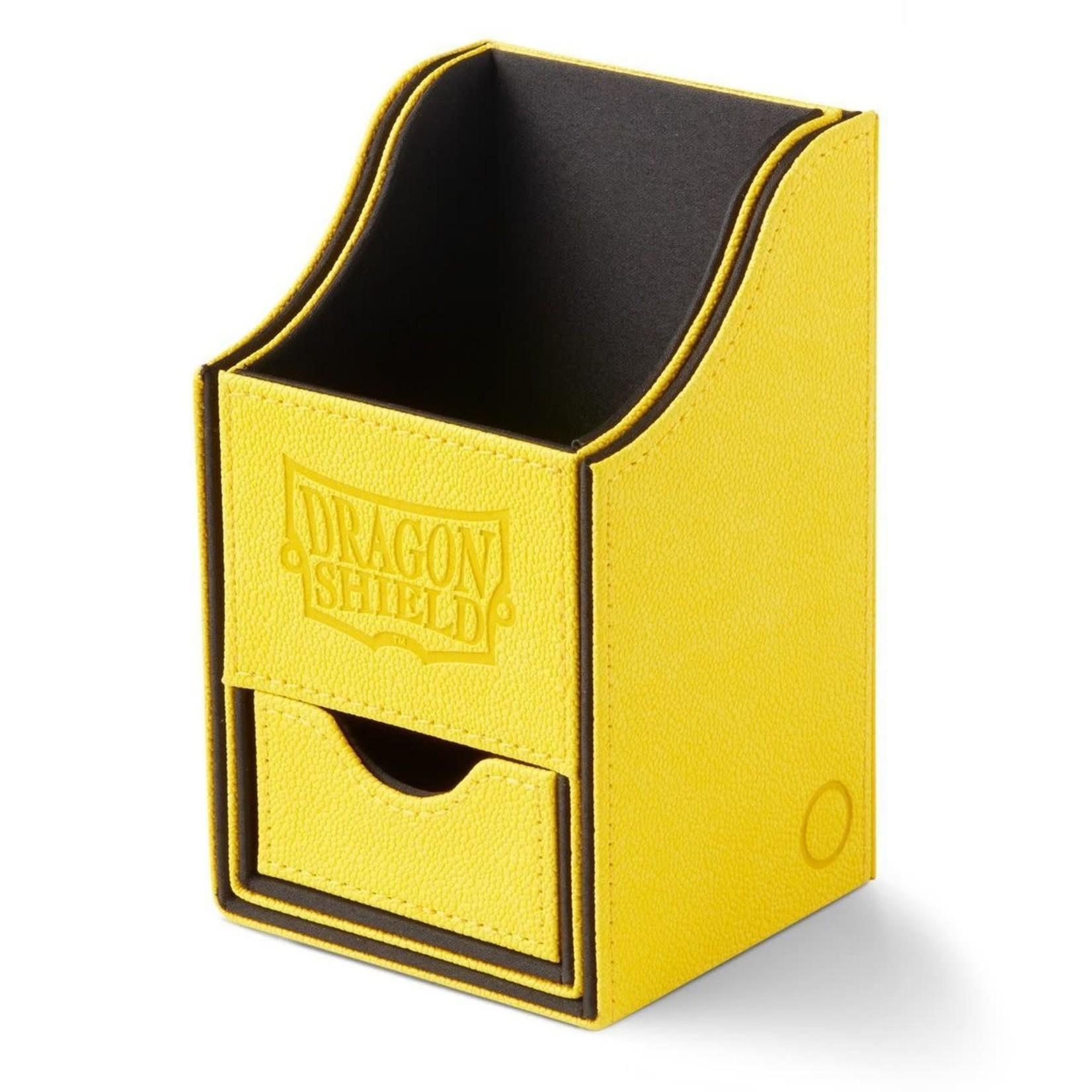 Arcane Tinman Dragon Shield Deckbox Nest w/ Tray - Yellow/Black