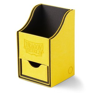 Arcane Tinman Dragon Shield Deckbox Nest w/ Tray - Yellow/Black