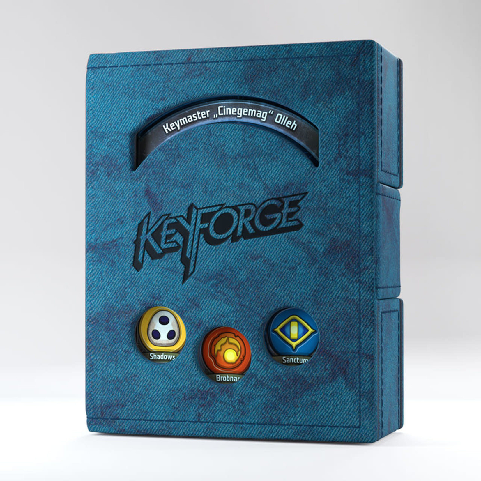 Asmodee Editions KeyForge: Deck Book - Blue