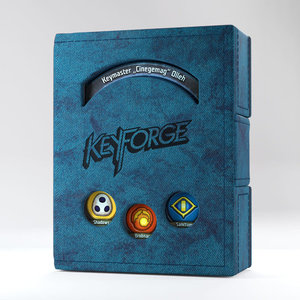 Asmodee Editions KeyForge: Deck Book - Blue