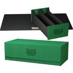 Arcane Tinman Dragon Shield: Deckbox Nest 500 - Magic Carpet Green/Black