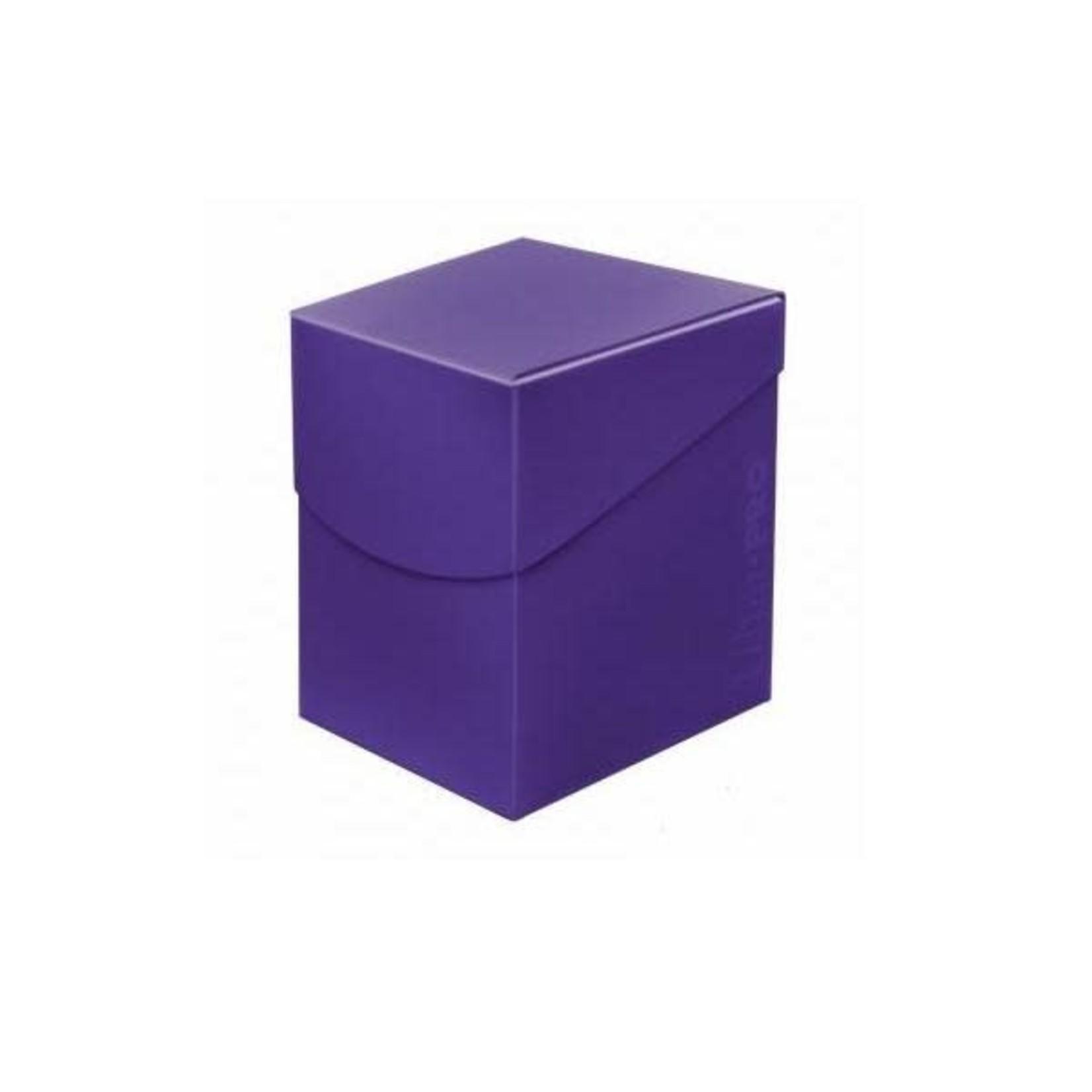 Ultra Pro Ultra Pro Deck Box: 100+ Eclipse Royal Purple