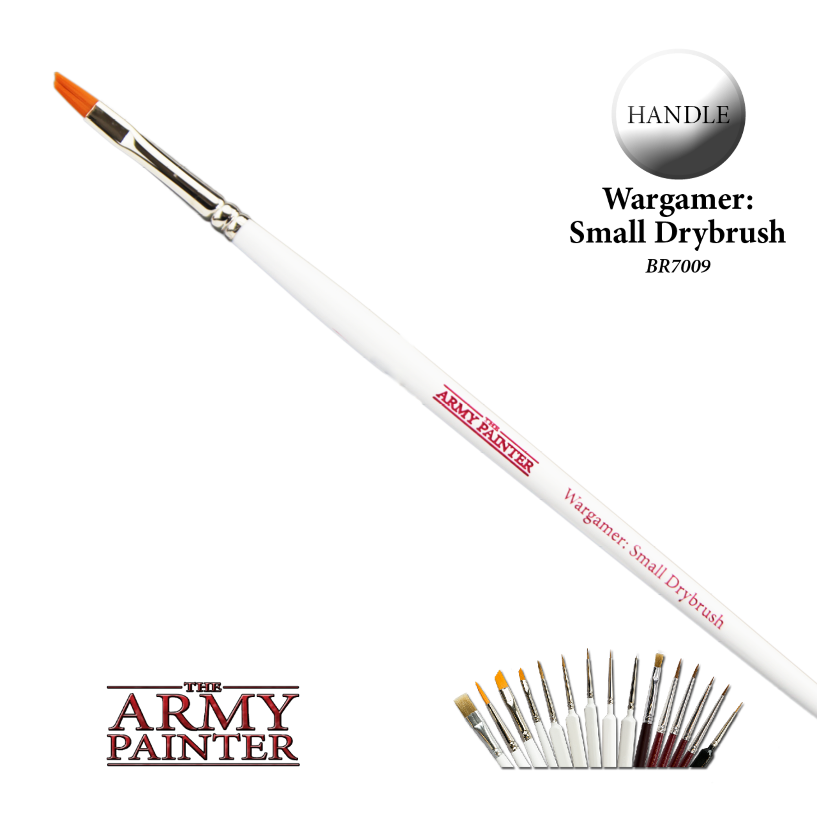 The Army Painter The Army Painter: Small Drybrush Brush