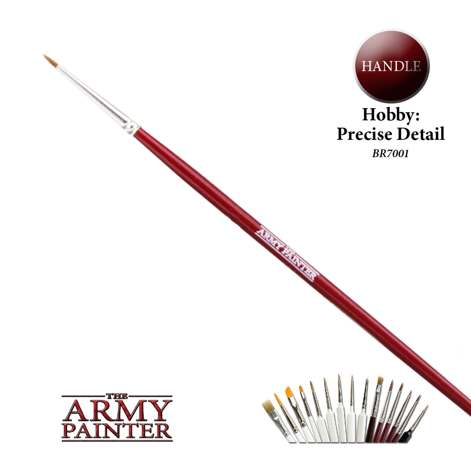 The Army Painter The Army Painter: Precise Detail Brush