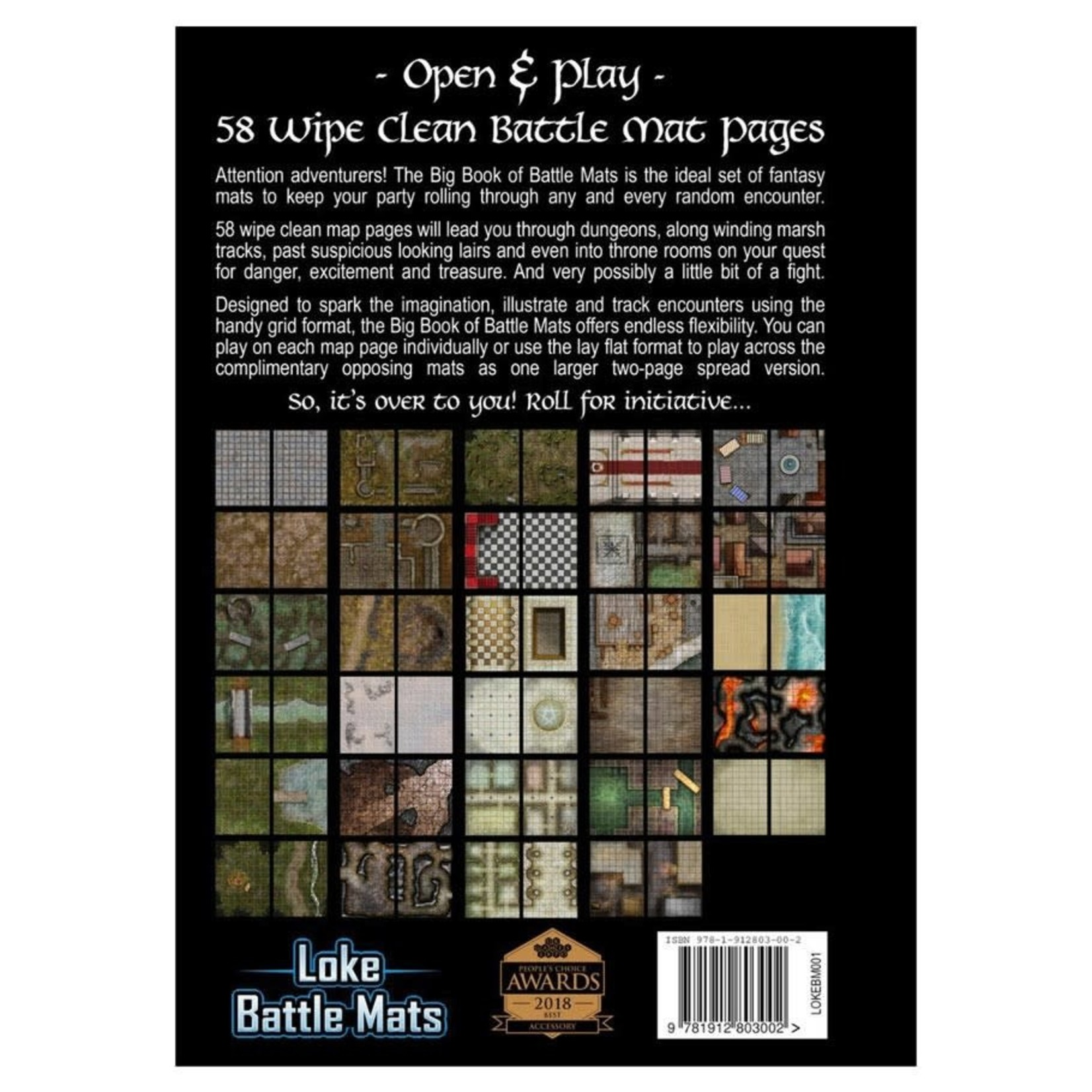 Loke Battlemats Big Book of Battle Mats