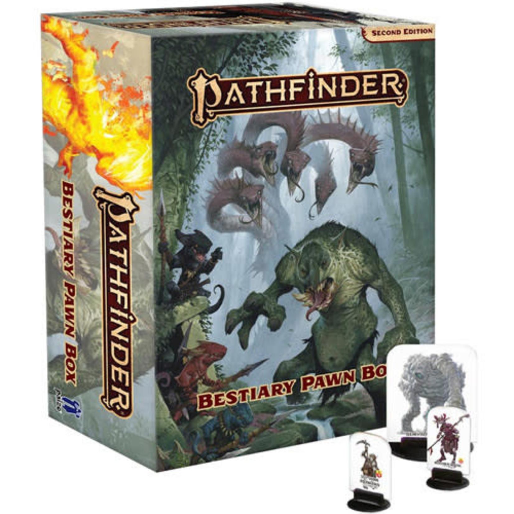 Paizo Pathfinder Roleplaying Game Second Edition: Pawns - Bestiary Box