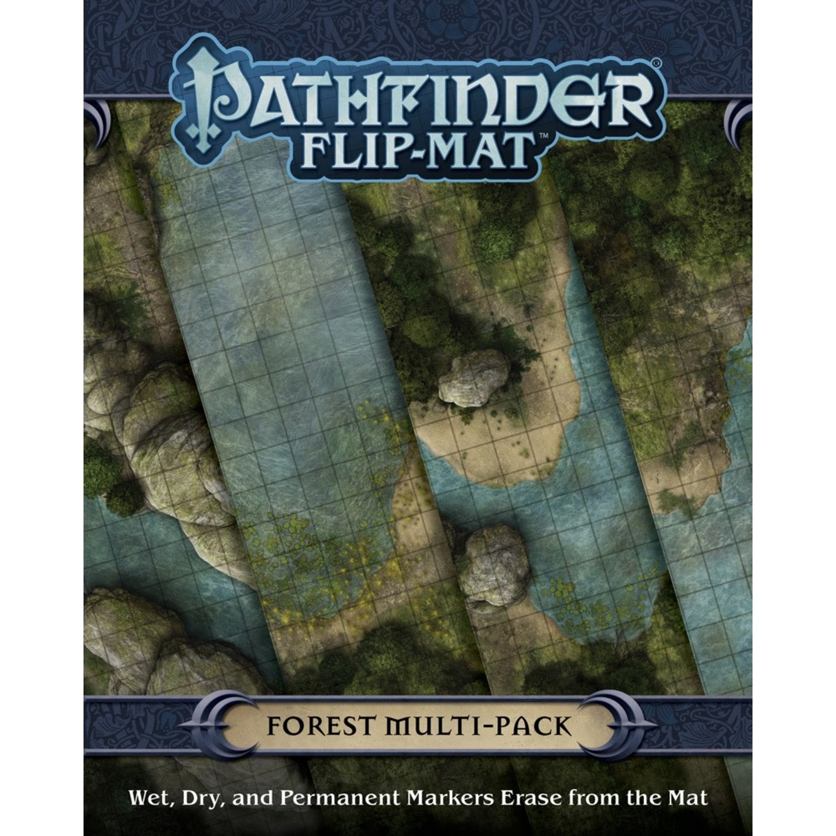 Paizo Pathfinder RPG: Flip-Mat - Forest Multi-Pack