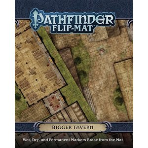 Paizo Pathfinder RPG: Flip-Mat - Bigger Tavern