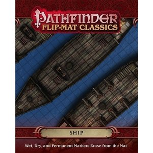 Paizo Pathfinder RPG: Flip-Mat - Classic Ship