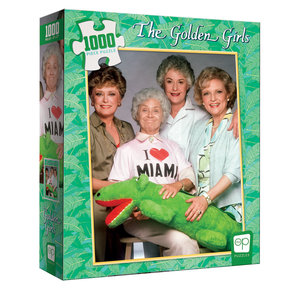 USAoploy The OP - 1000 Piece Puzzle: Golden Girls I Heart Miami