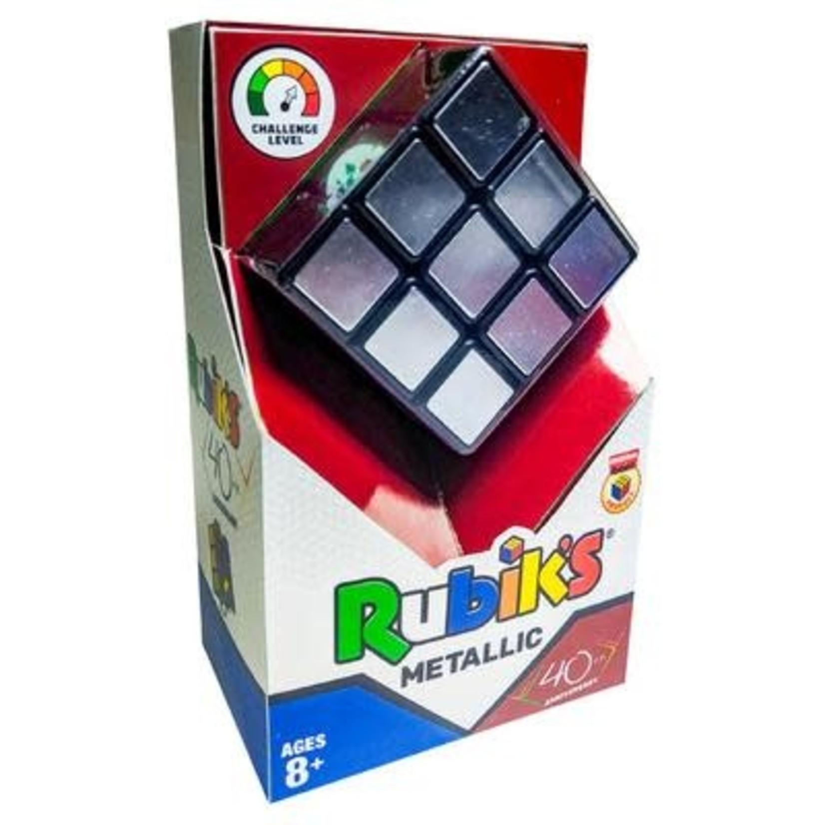 Winning Moves Rubik's 40th Anniversary Metallic 3x3