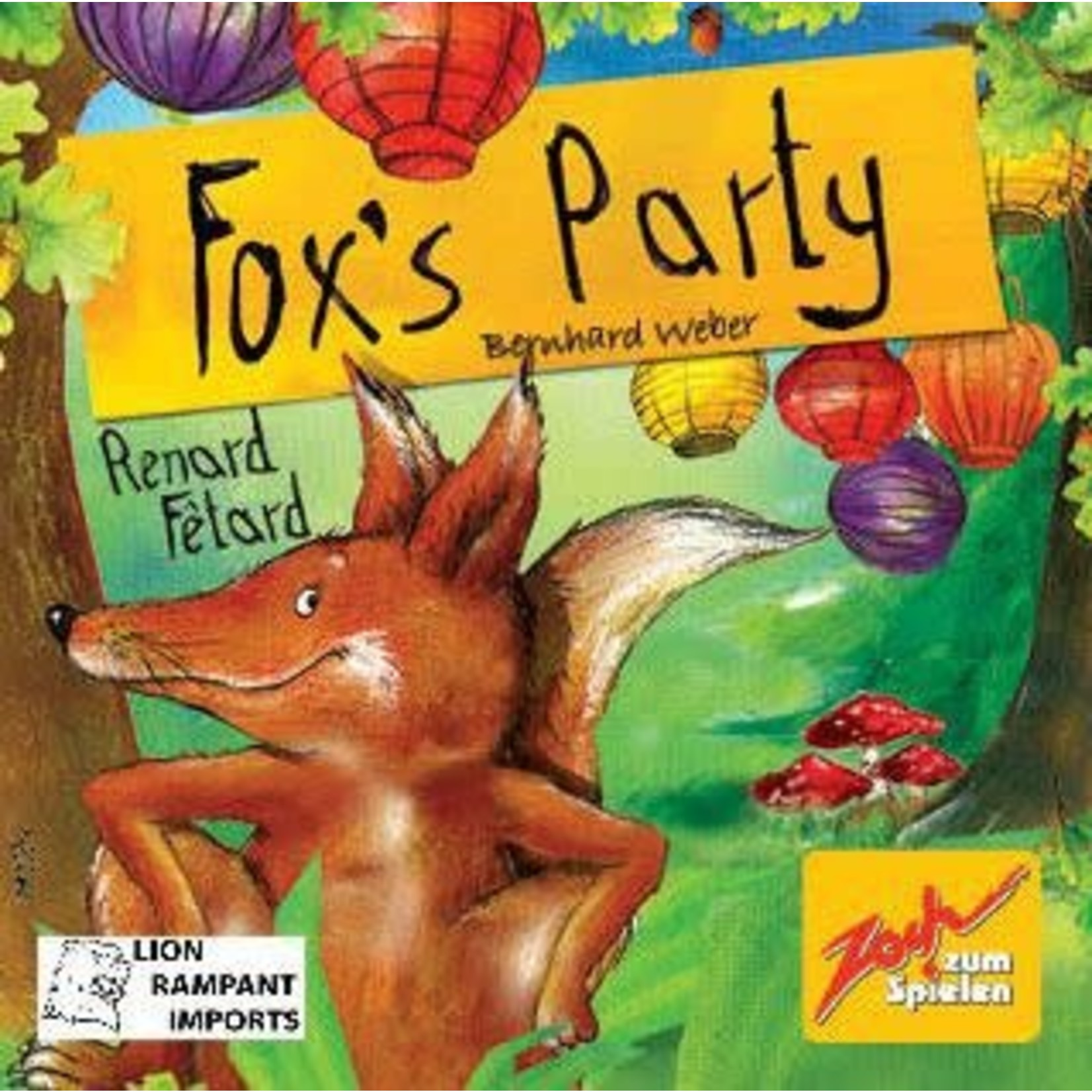Zoch Verlag Fox's Party