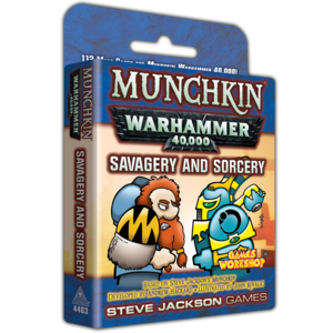 Steve Jackson Games Munchkin Warhammer 40k: Savagery and Sorcery