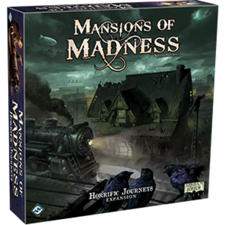 Fantasy Flight Games Mansions of Madness 2nd Ed: Horrific Journeys Expansion