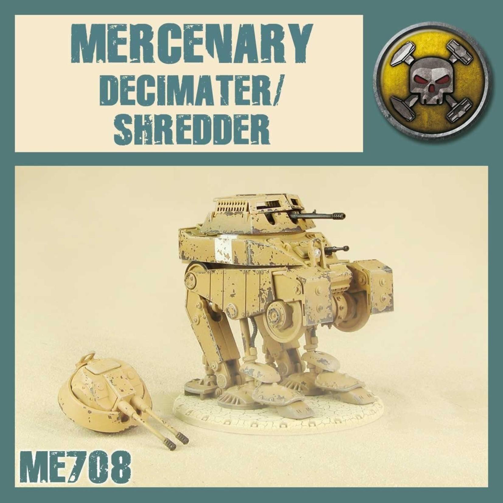 Dust Dust 1947: Mercenary Decimater/Shredder