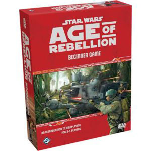 Fantasy Flight Games Star Wars RPG: Age of Rebellion - Beginner Game