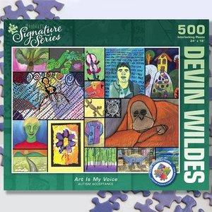 Puzzle Twist Maynard's Signature Series - 500 Piece Puzzle: Art is My Voice