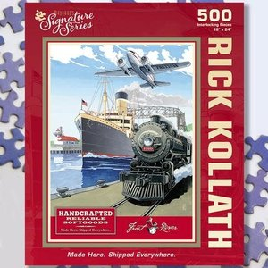 Puzzle Twist Maynard's Signature Series - 500 Piece Puzzle: Made Here. Shipped Everywhere