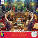 ceaco Ceaco - 1000 Piece Puzzle: Seek and Find - Antique Library