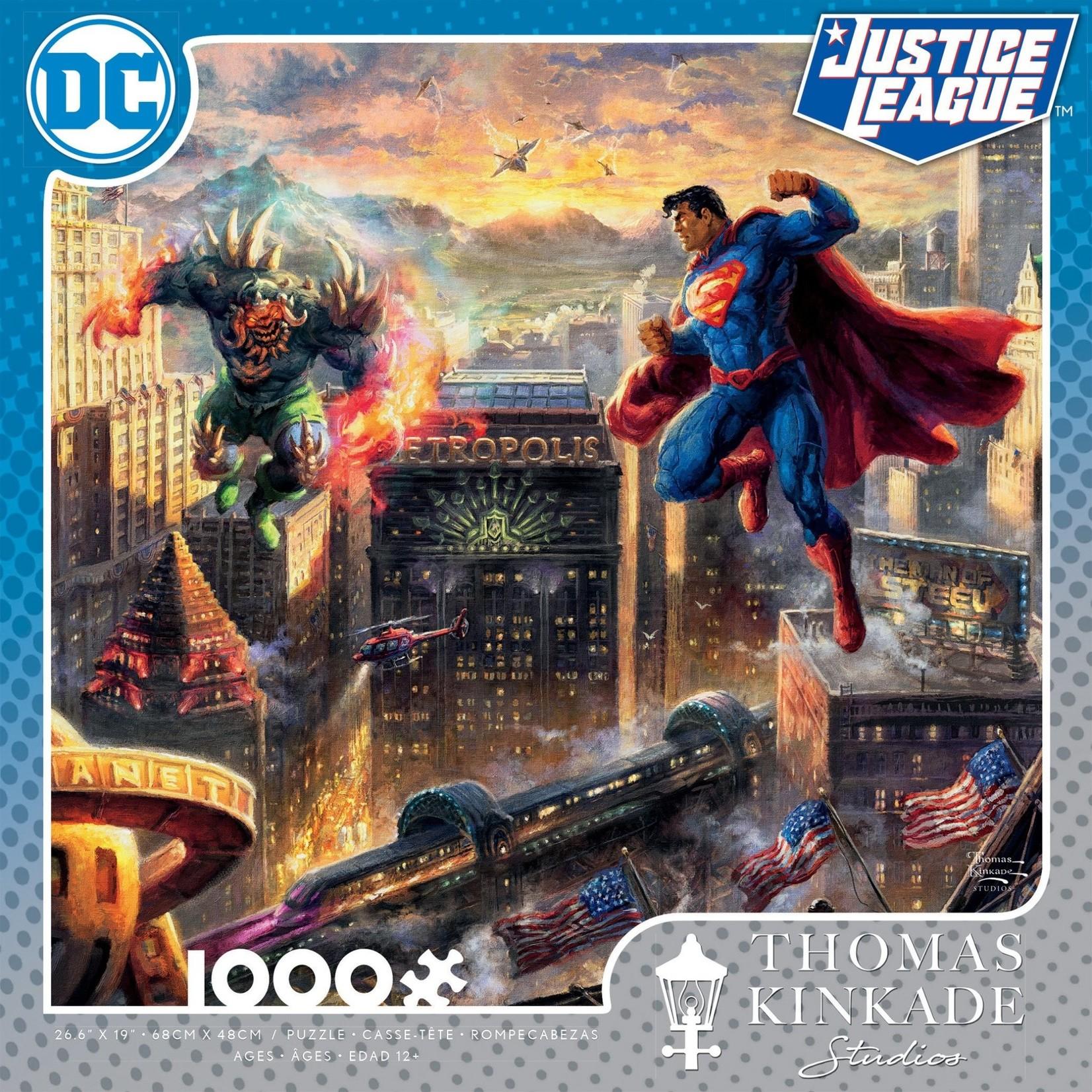 ceaco Ceaco - 1000 Piece Puzzle: Thomas Kinkade - Superman: Man of Steel