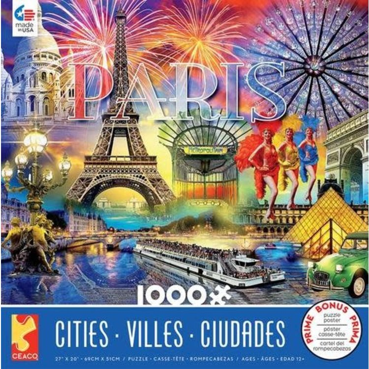 ceaco Ceaco - 1000 Piece Puzzle: Cities - Paris