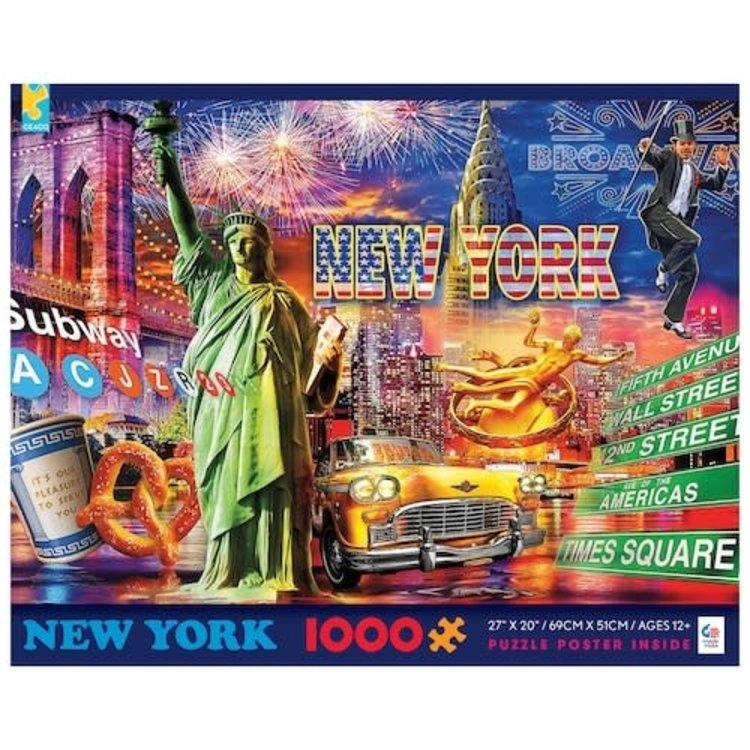 ceaco Ceaco - 1000 Piece Puzzle: Cities - New York