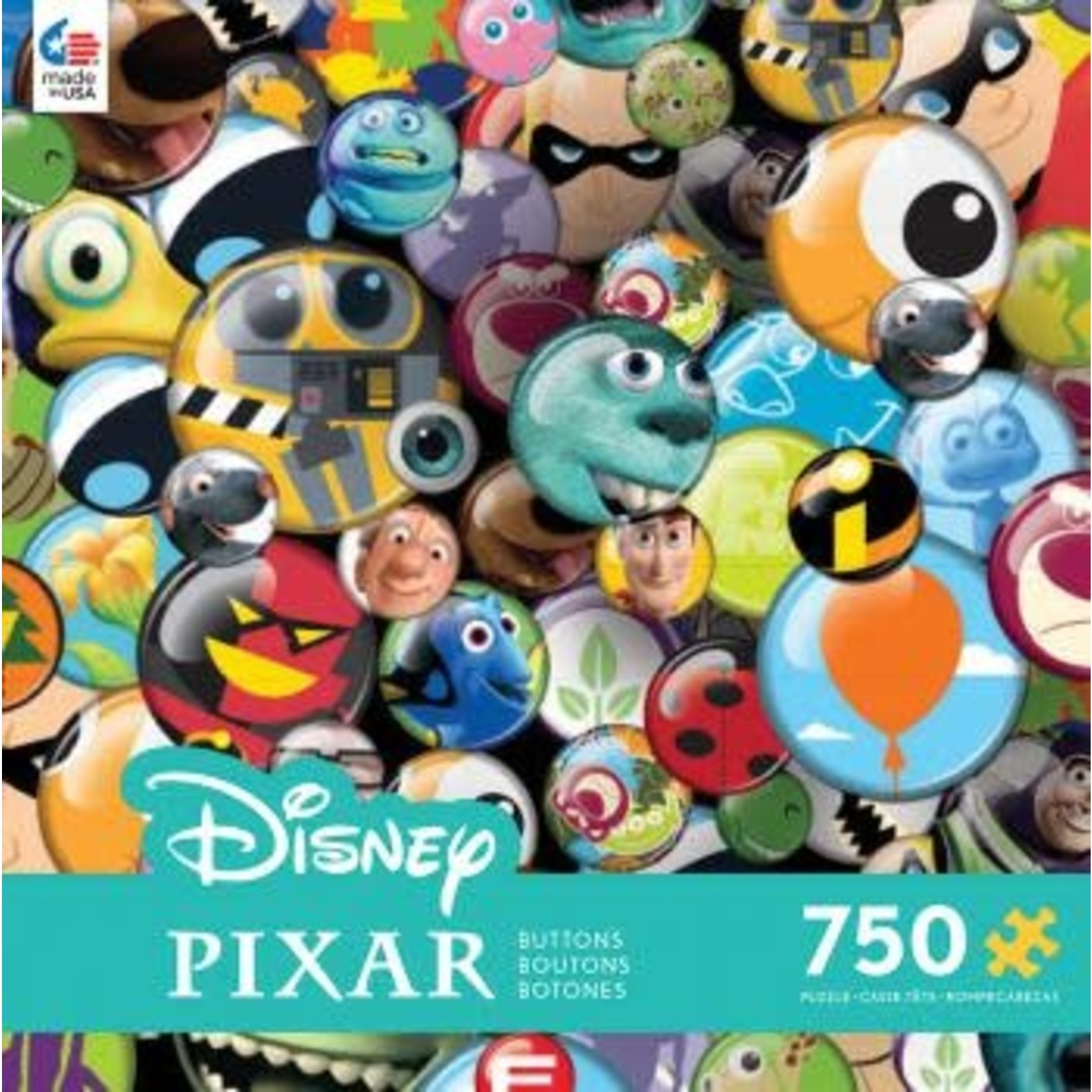 ceaco Ceaco - 750 Piece Puzzle: Disney Collection - Collector Buttons