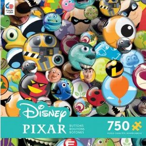 ceaco Ceaco - 750 Piece Puzzle: Disney Collection - Collector Buttons