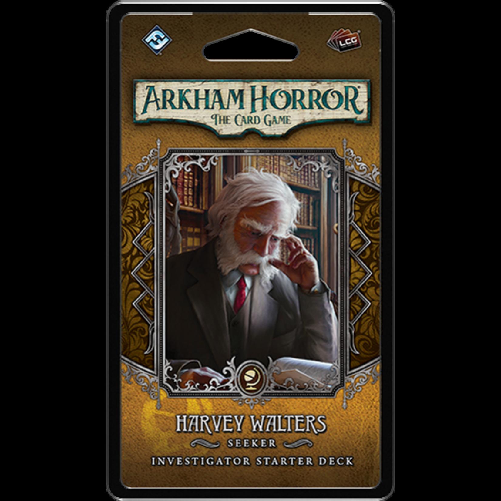 Fantasy Flight Games Arkham Horror LCG: Harvey Walters  Investigator Starter Deck