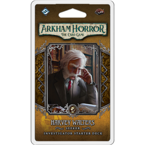 Fantasy Flight Games Arkham Horror LCG: Harvey Walters  Investigator Starter Deck